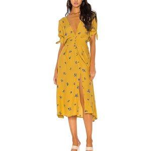 NWT Faithfull the Brand Billie Midi Dress sz 6 / M